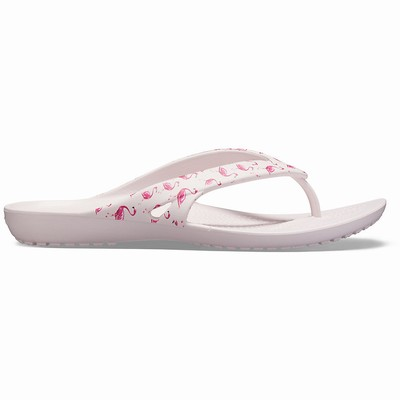 Damske Žabky Crocs Kadee II Seasonal Graphic Ruzove Outlet | AB8503ZF